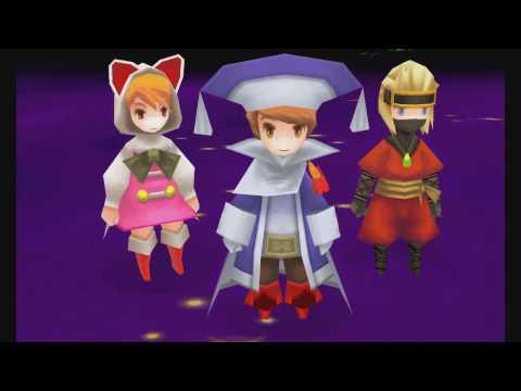 Final Fantasy 3 Walkthough Part 28: Cloud Of Darkness