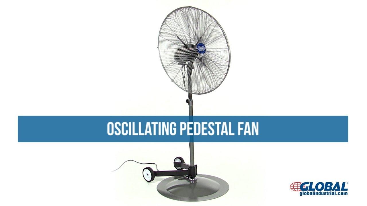 Fans | Pedestal Fans | Oscillating Pedestal Fan 24 Inch