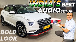 CRETA 2021 MODIFIED WITH INDIA'S BEST AUDIO SETUP || BASE TO TOP || FROM ANDHRA || 📞93218114812