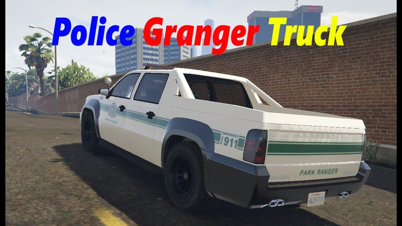 GTA 5 Police Granger Truck Mod