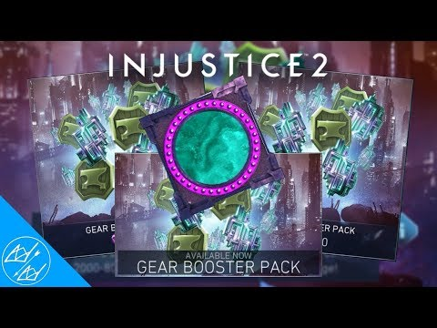BUYING GEAR BOOSTER PACKS || INJUSTICE 2 MOBILE