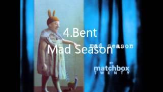 My favorite matchbox twenty songs(shortened)
