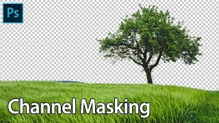 Channel Masking in Photoshop cs6 in Hindi | How to Remove Background in Photoshop