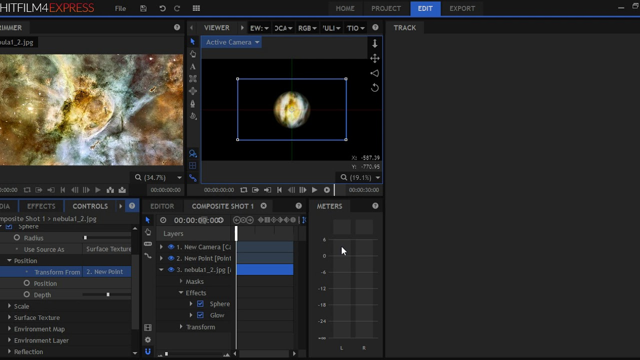 Create and rotate planets using hit film express youtube create and rotate planets using hit film express ccuart Images