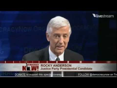 Expanding the Debate on Role of America in the World: Jill Stein & Rocky Anderson Respond