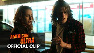 "American Ultra (2015) Official Clip – ""Piss My Pants"""