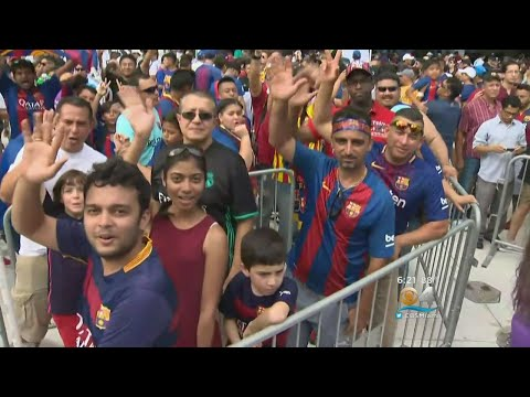 The Pure Sport? El Clasico Miami Proves To Be One Big Party