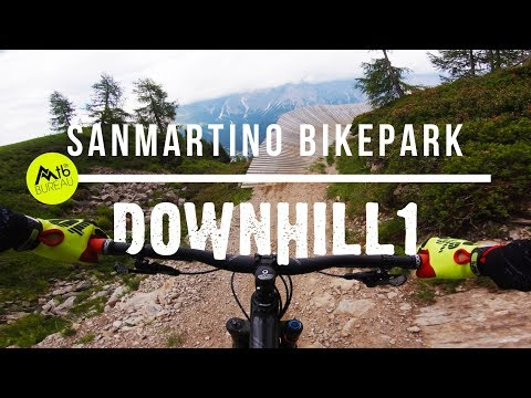 SAN MARTINO BIKE ARENA // 2018 Bikepark updates FULL RUN 4K