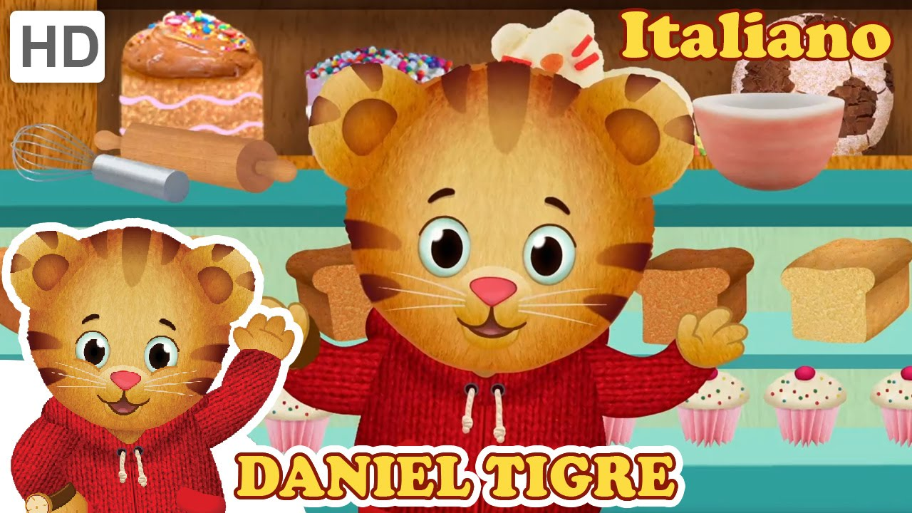 Daniel Tiger in Italiano - Il compleanno di Daniel e Il picnic di Daniel (HD - Episodio Completa)