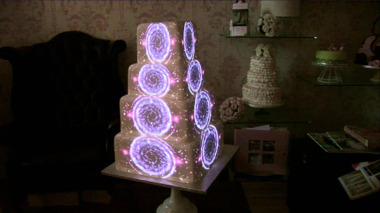 Wedding Cake Projection Uk