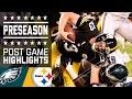 Eagles Vs. Steelers   Post Game Highlights   Nfl video