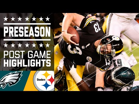 Eagles vs. Steelers | Game Highlights | NFL