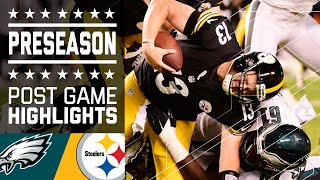 Eagles vs. Steelers | Game Highlights | NFL