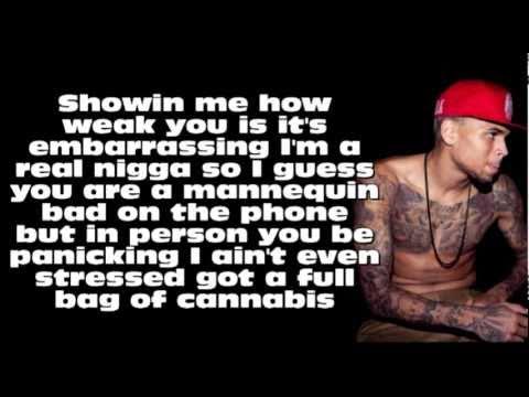 Chris Brown ft. Kevin McCall - Marvins Room (Remix) [Lyrics On Screen]