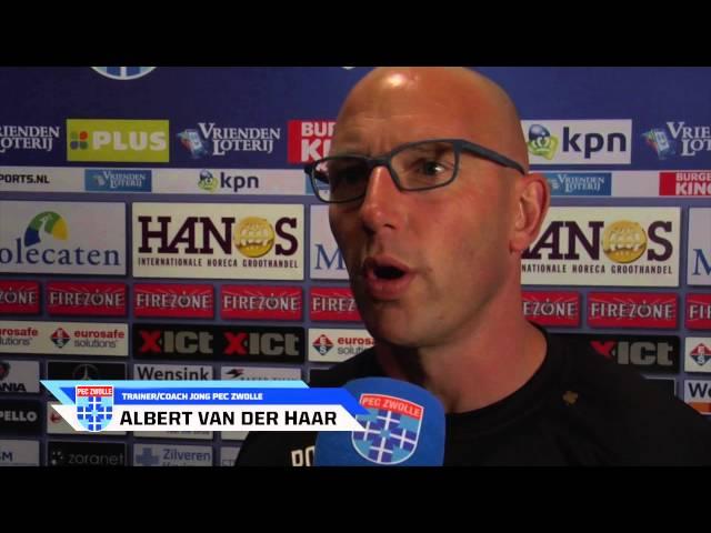 Samenvatting Jong PEC Zwolle - Jong sc Heerenveen