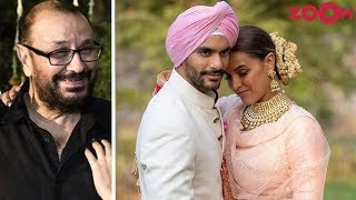 Neha Dhupia's Father Clears The Air On The Pregnancy Rumours Before Her Marriage With Angad Bedi