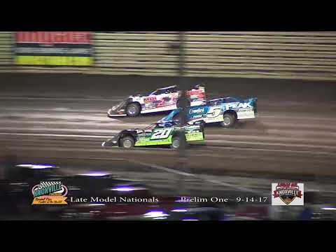 Knoxville Raceway Late Model Nationals 9-14-17 Prelim #1