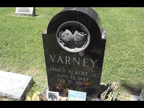 Gravesite of famous actor Jim Varney, also known as 'Ernest Worrell'