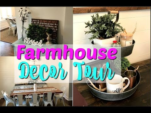 Farmhouse Tour Hobby Lobby Farmhouse Decor Farmhouse Decor Ideas Decorate With Me Youtube