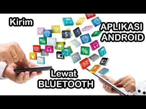 Cara Kirim Aplikasi Android lewat Bluetooth, Tanpa Share it !!!