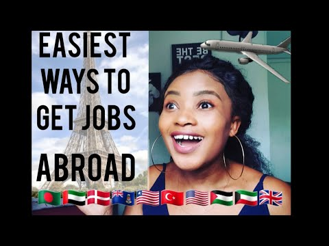 EASIEST WAYS TO GET JOBS OVERSEAS- Moving Abroad Part 2 | South African Youtuber