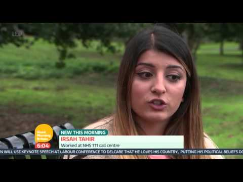 Claims That NHS 111 Puts Lives At Risk | Good Morning Britain