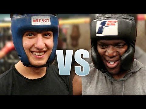 KSI VS AnEsonGib - Boxing Match (Pre Joe Weller Fight)