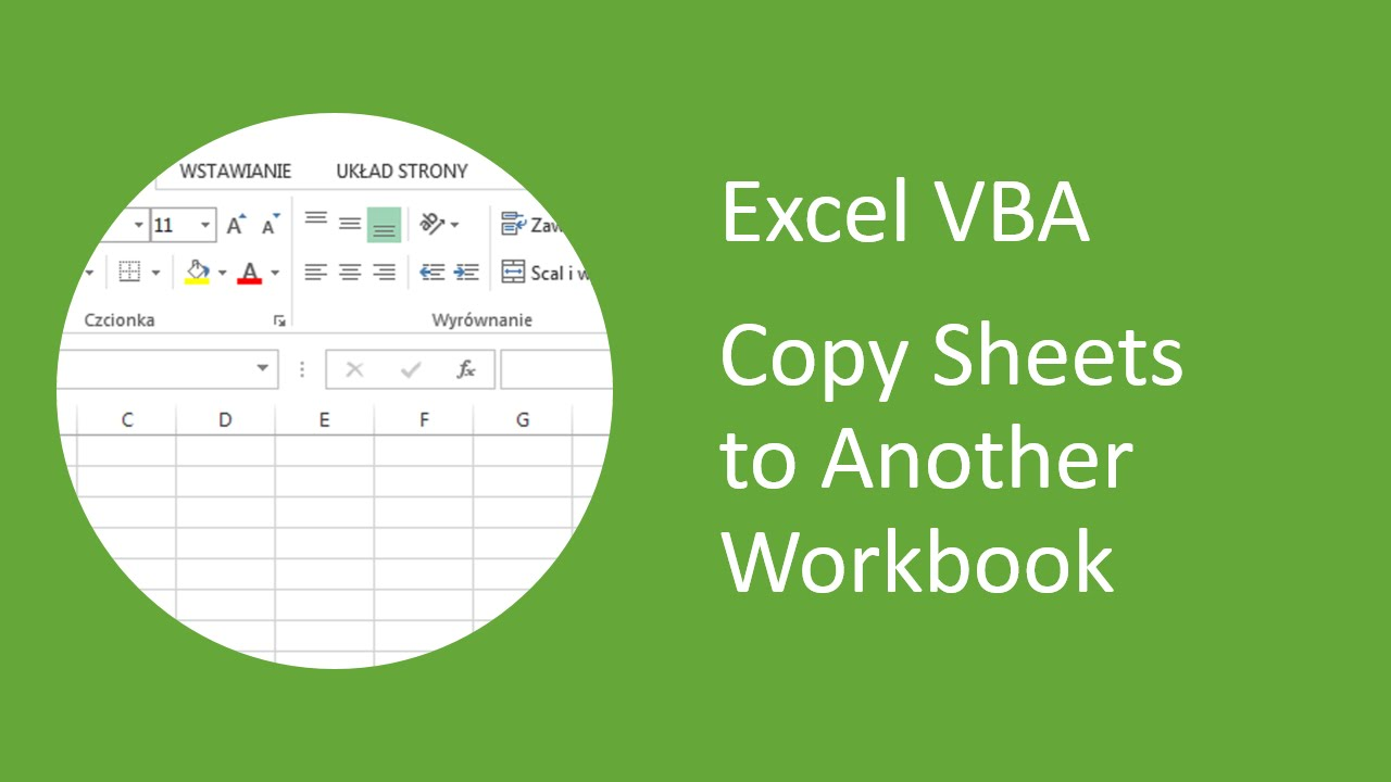 Excel Vb How To Copy Sheets To Her W Kbook Youtube