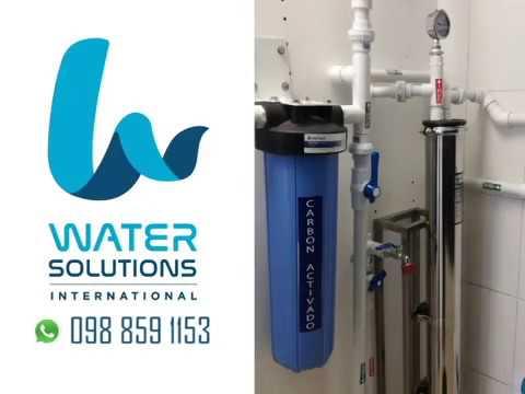 Water Solutions International - Moderna planta envasadora de agua