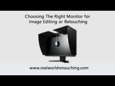 Real World Retouching: Choosing The Right Monitor For Image Editing or Retouching