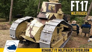 Walking My Ft17 - Starting And Driving Around A Renault Ft Militracks