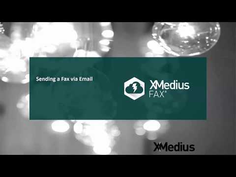 XMediusFAX Send a fax via email