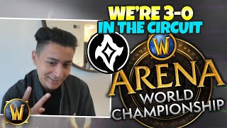 NECROLORD ROGUE??? WE'RE 3-0 IN THE CIRCUIT BABY - AWC Vod Review