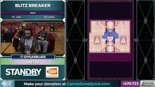 Blitz Breaker by giygasblues in 24:47 - Awesome Games Done Quick 2017 - Part 85