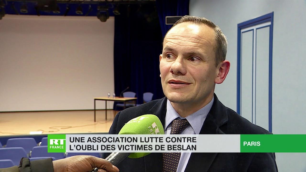 Une association parisienne lutte contre l'oubli des victimes de Beslan