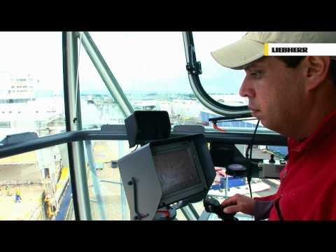 Liebherr Mobile Harbour Crane - LHM Driver's Comfort