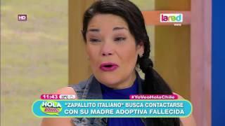 Zapallito italiano se contacta con su madre adoptiva fallecida