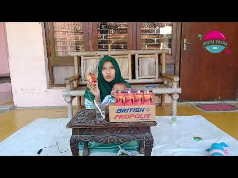 REVIEW & CARA MINUM BRITISH PROPOLIS