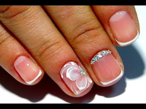 Дизайн ногтей коротких френч