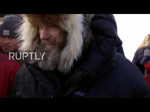 Russia: Adventurer and priest  Fyodor Konyukhov breaks hot air balloon record