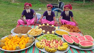 Huge Fruits & Spice Food Ramdan Iftar - Wheelchair & Dress Gifted to Special People with Iftar