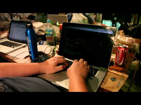 Fastest coder on the Mexican Startupbus 2013 because of super glasses