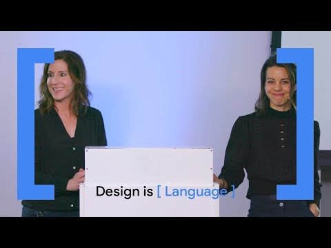 Design is [Language] – Why Words Matter