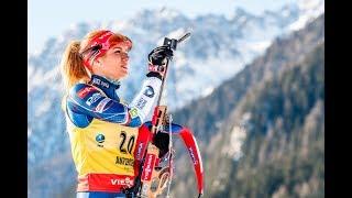 Světový pohár v biatlonu 2017/18 Hochfilzen Stíhací závod žen na 10 km