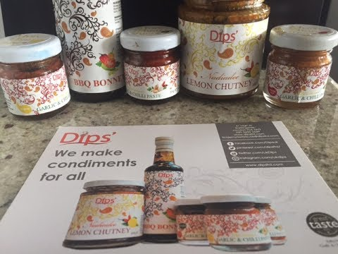 Gift Box from UK Dips | Fathers Day Gift Ideas | Amazing Condiments