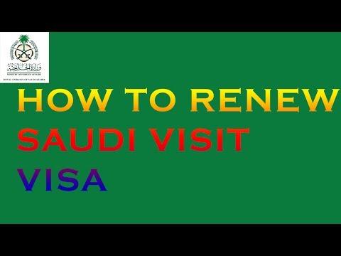 How to Renew Saudi Visit Visa