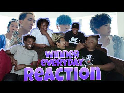 WINNER - 'EVERYDAY' M/V - REACTION