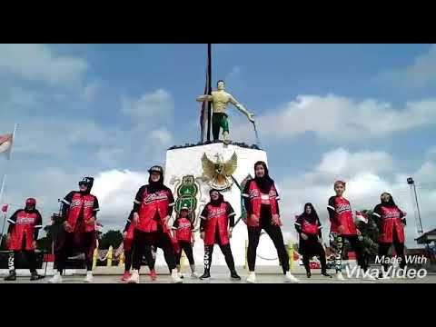 Meraih Bintang By Via Vallen (Official Song ASIAN GAMES 2018) || Zumba ||by HazarJLSTUDIO Sangasanga