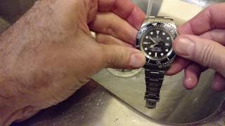 Maintaining your Rolex Deepsea Sea Dweller after Diving . Part I