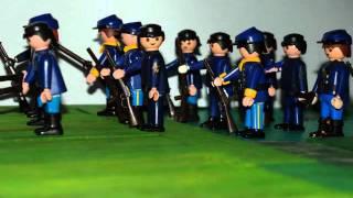 PLAYMOBIL Western 2 casquettes bleues pour vos soldats nordistes